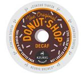 The Original Donut Shop Decaf. Keurig K-Cup Coffee Extra Bold Portion Pack
