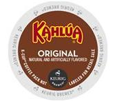 Kahlua Original Coffee Keurig K-Cup Portion Pack