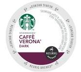 Starbucks Cafe Verona Coffee Keurig K-Cup® Packs
