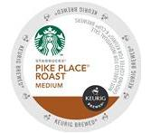 Starbucks Pike Place Roast Coffee Keurig K-Cup® Packs