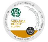 Starbucks Veranda Blend Coffee Keurig K-Cup® Packs