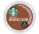 Starbucks Breakfast Blend Coffee Keurig K-Cup® Packs
