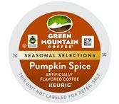 Green Mountain Pumpkin Spice Keurig  K-Cup® Packs