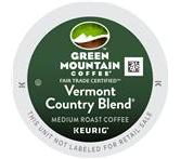 Green Mountain Vermont Country Blend FTO Coffee Keurig K-Cup® Packs