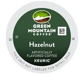 Green Mountain Hazelnut Coffee Keurig K-Cup® Packs