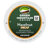 Green Mountain Hazelnut Decaf. Coffee Keurig K-Cup® Packs