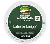Green Mountain Lake & Lodge Coffee Keurig K-Cup® Packs