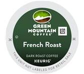 Green Mountain French Roast Coffee Keurig K-Cup® Packs