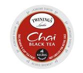 Twinings Chai Tea Keurig K-Cup Tea Portion Pack