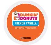 Dunkin Donuts French Vanilla Coffee Keurig K-Cup Packs
