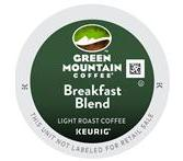 Green Mountain Breakfast Blend Coffee Keurig K-Cup® Packs