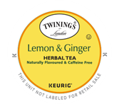 Twinings Lemon & Ginger Keurig K-Cup Tea Portion Pack