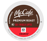 McCafe Premium Roast Coffee Keurig K-Cup® Packs
