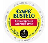 Cafe Bustelo Espresso Style Coffee Keurig Portion K-Cup® packs