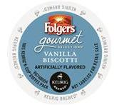 Folgers Vanilla Biscotti Coffee K-Cup® Packs