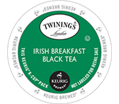 Twinings Irish Breakfast Keurig K-Cup Tea Portion Pack
