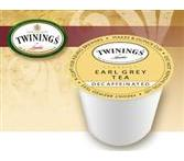 Twinings Earl Grey Decaf K-Cup Tea Portion Pack