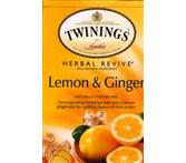 Twinings Lemon & Ginger Bagged Tea